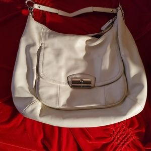 Coach off white large purse